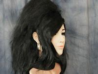 Gummi Maske RETRO AMY (Lilly3) +WIMPERN +PERÜCKE Latex Frau Gesicht Trans Sissy