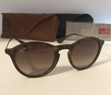 RAY-BAN AUTHENTIC UNISEX SUNGLASSES(RB 4243 865/13)49/20/145 mm. TORT/GUNMETAL