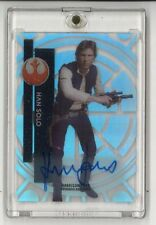 STAR WARS HIGH TEK HARRISON FORD HAN SOLO AUTO AUTOGRAPH CARD TOPPS SIGNED