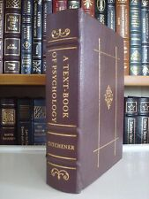 TEXT-BOOK OF PSYCHOLOGY Titchener Gryphon Medicine Classics Leather