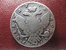 RUSIA  1 RUBLO 1775