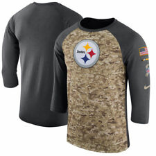 PITTSBURGH STEELERS 2017 NIKE DRI FIT SALUTE TO SERVICE MENS SHIRT LARGE