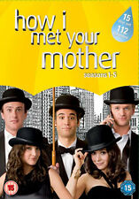 HOW I MET YOUR MOTHER - SEASON 1 TO 5 COMPLETE - DVD - REGION 2 UK