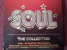 """""""SOUL The Collection"""" 3CD Set 60 Definitive Hits Inc.Otis Redding,Ray Charles ++"""