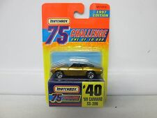 1997 Matchbox 75 Challenge 1969 Camaro SS-396 No 40