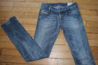 DIESEL  Jeans pour Femme W 26 - L 32 Taille Fr 36 NEWZ (Réf #Y113)