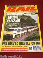RAIL - INTERCITY BEATING RECESSION - NOV 25 1992 # 188