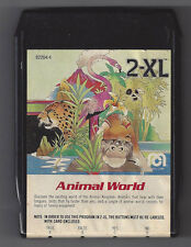 Vintage Mego 70's 2Xl Talking Robot 8 Track Tape Animal World Tested Works Great