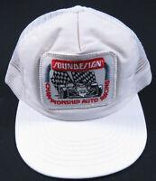 Vintage 90s Soundesign Electronics Racing Baseball Adjustable Snapback Cap Hat