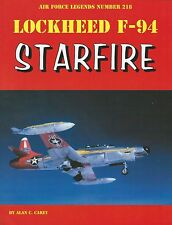 Ginter Air Force Legends 218: Lockheed F-94 Starfire