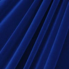"""STRETCH VELVET FABRIC COSTUMES CRAFT, APPAREL, UPHOLSTERS 60""""W 30 COLOR BY YARD"""