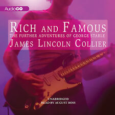 Rich and Famous by James Lincoln Collier CD 2013 Unabridged