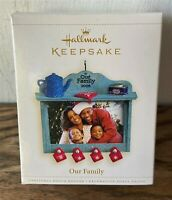 Hallmark Keepsake Christmas Ornament - Our Family Photo Frame-  2006 - in Box