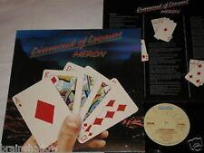 HERON diamond of dreams LP Bronze Rec. UK 1977 FOLK PROG ROCK
