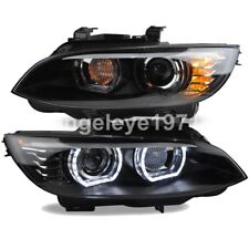 LED Headlights for BMW M3 E92 E93 LED Angel Eyes Lamps 2006-2012 Year SN
