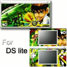Ben 10 Ten Ben10 VINYL SKIN STICKER COVER for DS LITE 5