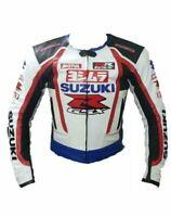 Customized Suzuki Motorcycle Motorbike Biker Racing Leather Sports Jacket