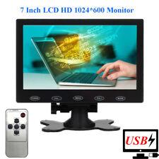 "USB Powered 7"" TFT LCD Monitor HD 1024*600 Dosplay for CCTV ,Raspberry PI,DSLR"