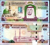 SAUDI ARABIA 100 RIYALS 2003 P 29 UNC