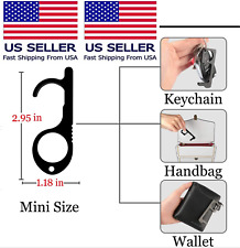 Contactless Safety Brass No Touch  Key EDC Protective Door Opener Copper USA
