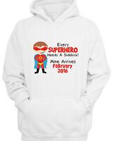 CHILDRENS PERSONALISED EVERY SUPERHERO NEEDS A SIDEKICK HOODY BOYS HOODIE KIDS