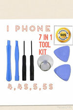 Tool kit for i Phone 4, 4s, 5, 5s,6,6s, SE.......7 in 1 kit.... FREE POSTAGE...