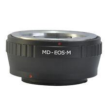 Minolta MD MC SR Lens to Canon EOSM EOS M EF-M Mount Camera MD-EOSM Adapter Ring