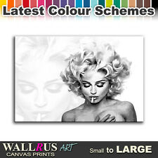 Madonna Bad Girl Music Icon Canvas Print Framed Photo Picture Wall Artwork WA