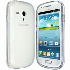 Soft Silicon Crystal Clear Gel TPU Back Case Cover FOR SAMSUNG S3 MINI i8190