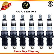 Platinum Spark Plugs AP3924 Set of 6 For 08/14 Audi Hyundai Kia 3.0L 3.3L 3.8L