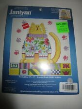 Counted cross stitch kit: Janlynn Funky cat Chat Funky sealed #021-1034