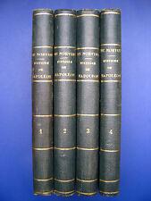 NORVINS/ HISTOIRE DE NAPOLEON/ 1834/ 4 VOL/ 4 / ILLUSTRE/ PLANCHES