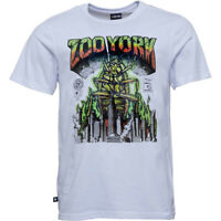 NEW Zoo York Skateboarding Skate Rasta Roach White t-shirt Large Mens T-shirt