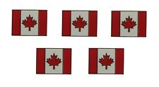 5er Pack Kanada Flaggenpin eckig, Pin, Flagge, Anstecknadel