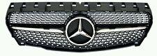 Mercedes Benz AMG Estilo Parrilla Inc Negro Diamante Estrella para una clase 2013-2015 W176