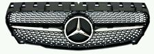 MERCEDES Benz Diamond Nero AMG Stile Griglia Inc Star per A-CLASS 2013-2015 w176
