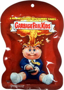 Garbage Pail Kids Magnet Trading Card Sticker Pack. TOPPS. Delivery is Free