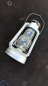 Original USSR Soviet Russian OLD vintage kerosene lantern oil lamp