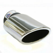 Car Exhaust Tail Tip Pipe Trim Muffler Chrome Stainless Steel Universal Fit