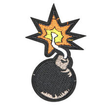 BOMB BALL PATCH, EXPLODING BOMB PATCH (MBS-564)