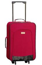 Faltbarer Trolley bordeaux Koffer Reisekoffer Handgepäck Boardcase Weichgepäck