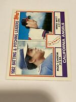 Vintage 1983 Topps #651 ROD CAREW Minny Twins Cali Angels 1B 2B HOF RARE NrMt/Mt