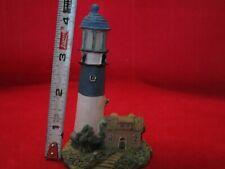 "Resin Decorative, Mini Lighthouse 4 1/2"" Tall F/S"
