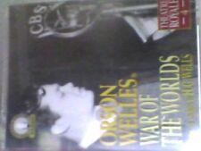 WAR OF THE WORLDS - ORSON WELLES  audio cassette book-abridged