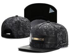 2017 NEW Fashion Men's bboy Hip Hop adjustable Baseball Snapback Hat cap Black