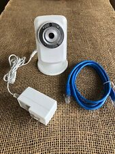 D-Link Wireless Wi-fi Security Camera DCS-932L White w/Ethernet Cable
