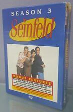 MS) Seinfeld - Season 3 (DVD, 2004, 4-Disc Box Set)