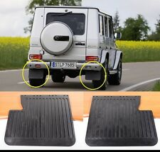 MERCEDES BENZ G WAGON PAIR X 2 REAR MUD FLAPS GUARDS W463 W461 G500 G320 300GE
