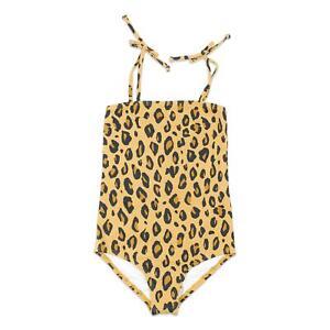 Billabong Youth Girls Leopard One Piece Swimwear Multi 10 New
