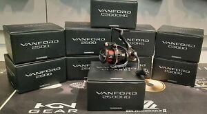Shimano Vanford 500 1000 2000 C2000S 2500 C3000 4000 4000MHG C5000XG F HG MHG XG